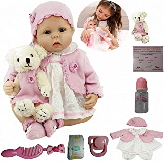 Realista Muñeca Reborn Niña Bebé Reborn Hecho a Mano 22