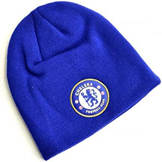 Chelsea FC Knitted Crest Beanie