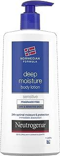 Neutrogena Norwegian Formula Deep Moisture Body Lotion - Dry & Sensitive Skin (400ml)