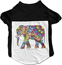 Colorful Tribal Elephant Pet Outsiders Summer Doggie Rigger T-shirt Puppy Cats Cool Summer Custom Vest