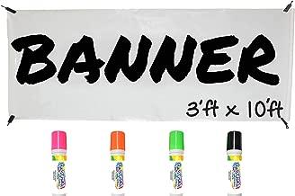 Best blank banner pens Reviews
