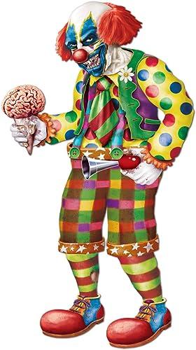 Entrega gratuita y rápida disponible. Beistle Beistle Beistle Jointed Zombie Clown, 5-Feet 6-Inch  ventas directas de fábrica