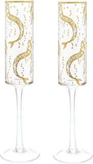Best mermaid champagne flutes Reviews