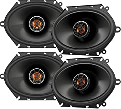 4 x JBL Club 8620 6x8 Custom Fit 165-Watt 2-Way Club-Series Coaxial Car Audio Speakers (Bulk Packaging)