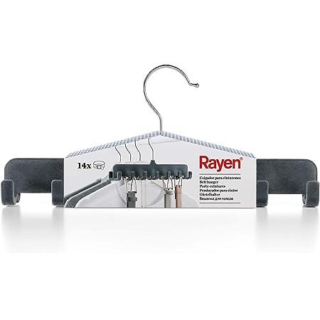 Rayen 1 Crochet pour 14 Ceintures, ABS flotté, Gris, 31,5x14x4,5 cm