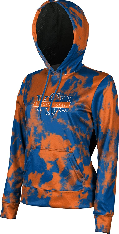 ProSphere Virginia State University Girls' Pullover Hoodie, School Spirit Sweatshirt (Grunge)