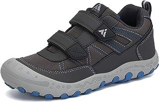 أحذية Mishansha للأطفال المشي في الهواء الطلق أحذية رياضية متينة واسعة للأولاد المشي تنس ترايل حذاء رمادي للأطفال الصغار 1