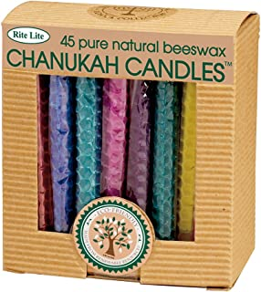beeswax chanukah candles