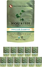 Functional Formularies Nourish Peptide Organic Tube Feeding Formula and Nutritional Meal Replacement Supplement, 12 Pack