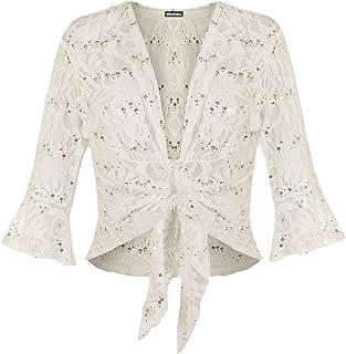 Femme Plain en mailles à manches longues Cropped crochet Casual Cardigan Femmes hausse