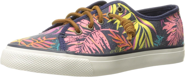 Sperry Women's Seacoast Fashion Sneaker, Pink/Multi