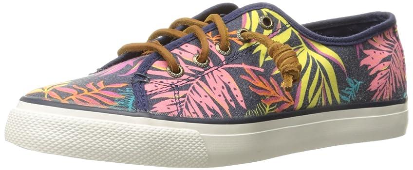 無能リルリテラシーSperry Seacoast Womens Sneakers / Shoes-Blue-23