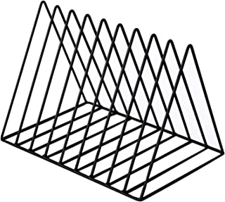 Nai-storage ZSY Estante de Almacenamiento Triangular, Soporte de exhibición de Discos de Vinilo LP Estantería de Escritori...