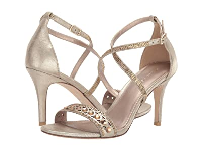 Pelle Moda Rory (Platinum Gold Metallic Suede) Women