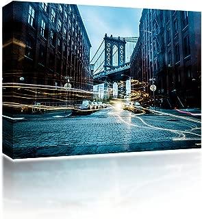 Onsia Sound Art Brooklyn Flat Panel Canvas Art with Bluetooth Wireless Speaker