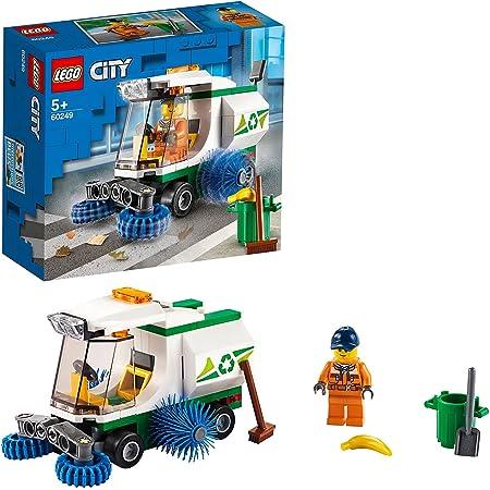 LEGO City Great Vehicles Camioncino Pulizia Strade, Camion della Spazzatura Giocattolo con Minifigure di Autista, Giochi per Bambini di 5+ Anni, 60249