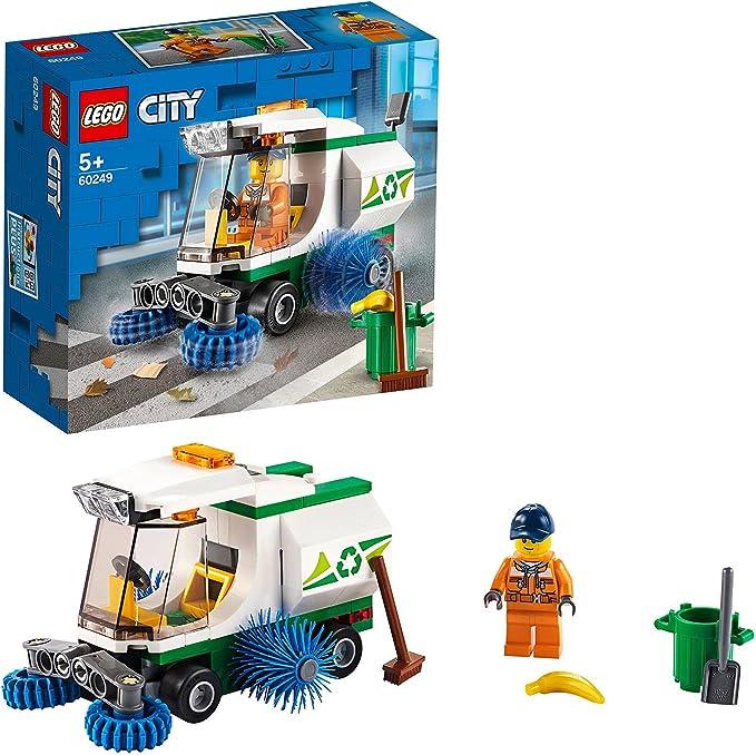 3405 opinioni per LEGO City Great Vehicles Camioncino Pulizia Strade dalla Spazzatura con Autista,