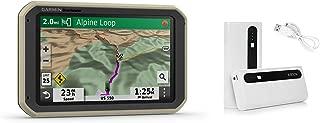 Garmin Overlander, Rugged Multipurpose Navigator for Off-Grid Guidance (010-02195-00) and Aibocn 10,000mAh Portable Battery Charger Bundle