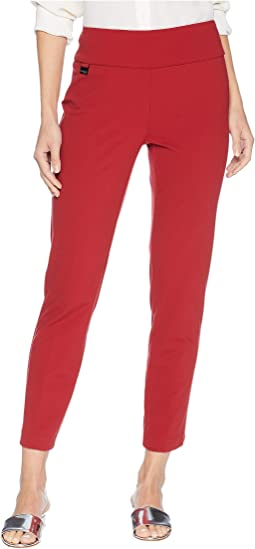 Katherine Fabric Ankle Pant with Back Slits