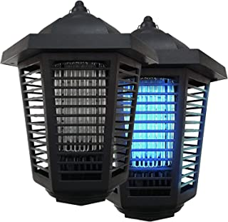Pestnot Bug Zapper Electric Mosquito Killer - (2Pack)20W Bug Zapper Outdoor & Indoor With IP24 Water Resistance & Dedicated Space For Attractants. Upgraded 2019 360 UVA Bulb. Fly Zapper (20W - 2 Pack)