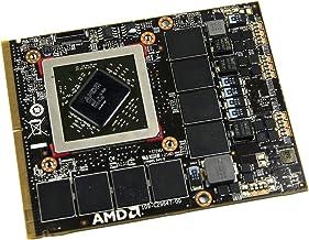 Tarjeta gráfica de vídeo interna para ordenador de sobremesa para Apple iMac 2011 A1312 MC814LL/A MC814 27 pulgadas AMD ATI Mobility Radeon HD 6970M HD6970M GDDR5 2 GB MXM VGA
