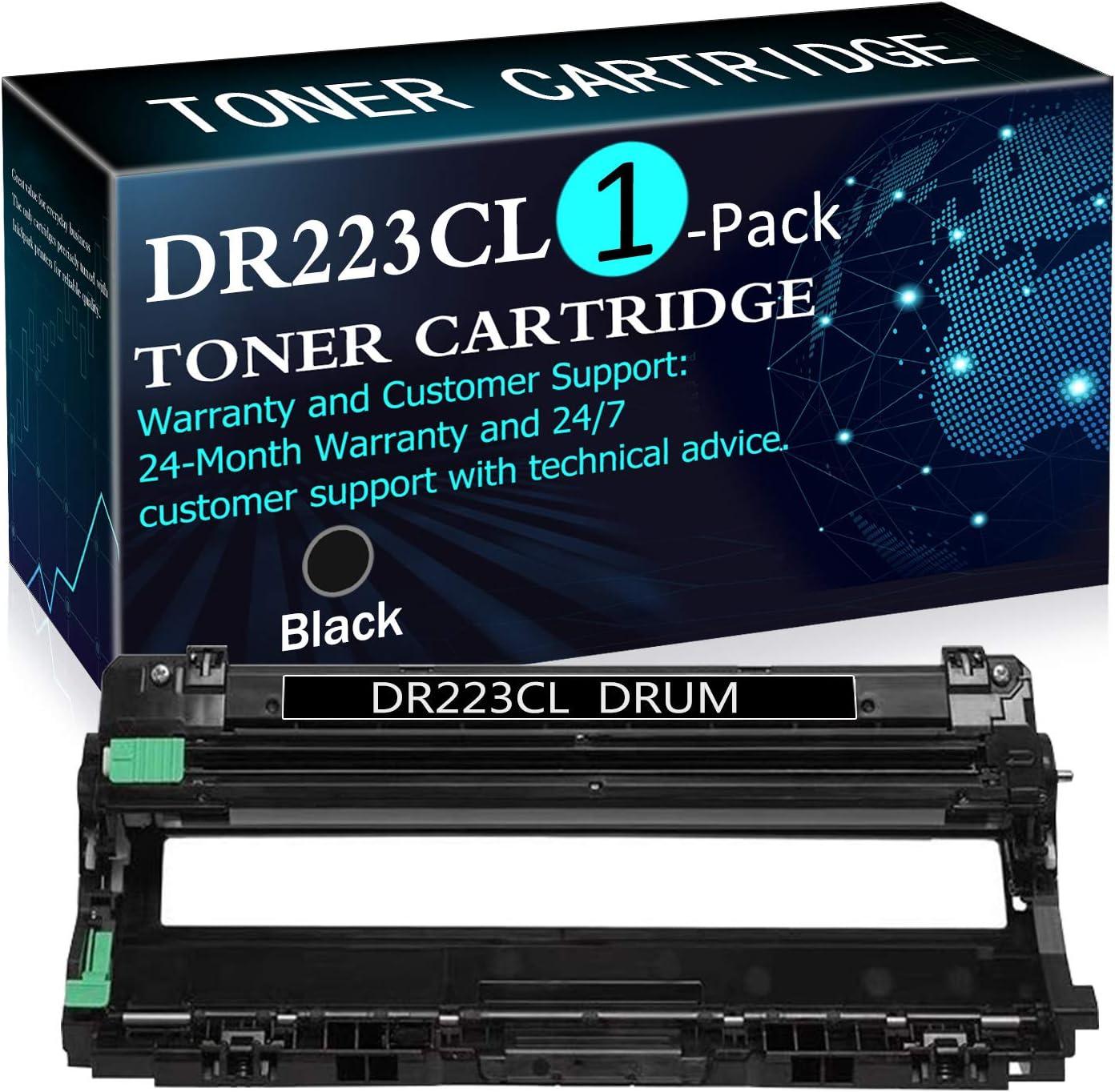 正規品送料無料 1 最安値 Pack Black DR223CL Drum HL-L3210C Brother for Replacement Unit