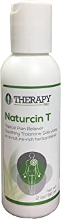 Limited Sale! Naturcin T Pain Relief Odorless Cream with Trolamine Salicylate 10% & Aloe Vera for Arthritis, Back & Neck Pain, Carpal Tunnel, Tennis Elbow, Joints, Sciatica & Sore Muscles Lotion, 2 oz