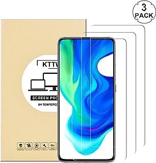 [3 Pack] Xiaomi Poco F2 pro Screen Protector Glass, KTTWO Anti-Scratch Anti-Fingerprint 9H Hardness Tempered Glass Screen ...