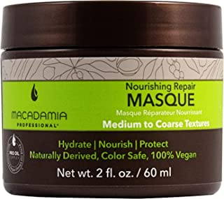 Macadamia Professional Hair Care Sulfate & Paraben Free Natural Organic Cruelty-Free Vegan Hair Products Nourishing Repair Masque -Replenishes Moisture, Strengthens and Improves Elasticity,2 fl Oz