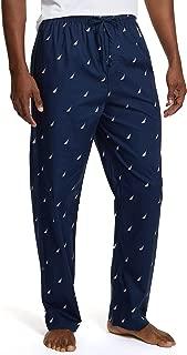 Men's Soft Woven 100% Cotton Elastic Waistband Sleep...