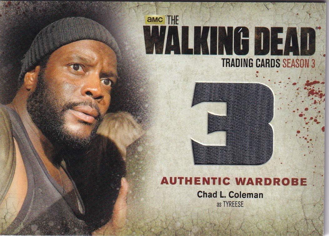 Walking Dead cryptozoic 2021 model 2014 Chad as Wardrobe Tyreese Coleman Arlington Mall Ca