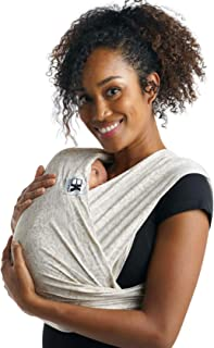 Baby K'tan Print Baby Wrap Carrier, Infant and Child Sling - Simple Wrap Holder for Babywearing - No Rings or Buckles - Carry Newborn up to 35 lbs, Savvy Snake, XXS (W Dress up to 0)