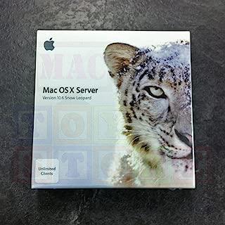mac 10.6 server