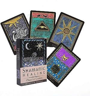 シャーマニック癒しのオラクルカードタロットカード占い運命エンターテイメントテーブルボードデッキゲームホリデーファミリーパーティーギフトトランプ,type 1,Tarot card