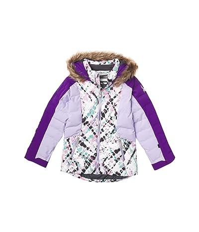 Spyder Kids Atlas Synthetic Down Jacket (Big Kids) (Impress Print) Girl