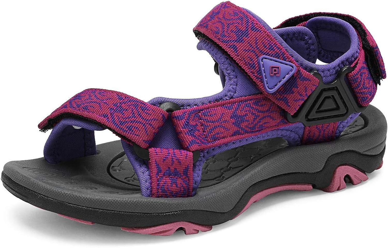 DREAM PAIRS Kids Adventurous Light-Weight Adjustable Straps Summer Sandals (Toddler/Little Kid/Big Kid)