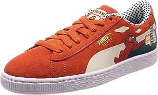 Puma Unisex-Baby Sesame Str 50 Suede Jr Leather Sneaker