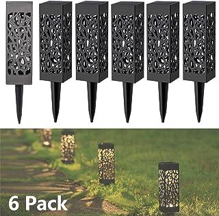 Lampes Exterieure Solaires De Jardin Au Sol, Exterieure Étanche Lumiere Paysage Lampe Jardin Sans Fil Led Décoration Eclai...