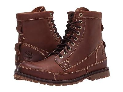 Timberland Earthkeepers(r) Rugged Original Leather 6 Boot (Medium Brown Nubuck) Men