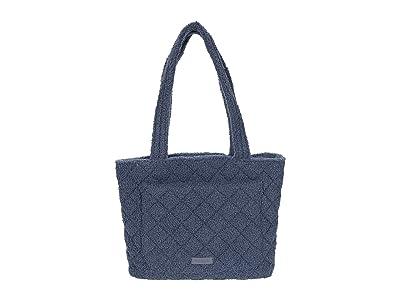 Vera Bradley Small Vera Tote (Thunder Blue) Handbags