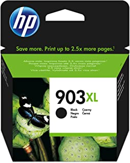 HP 903xl High Yield Ink Cartridge, Black - T6M15AE