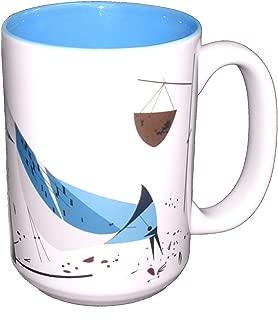 Charley Harper Blue Jay Grande Mug (Boxed Single)