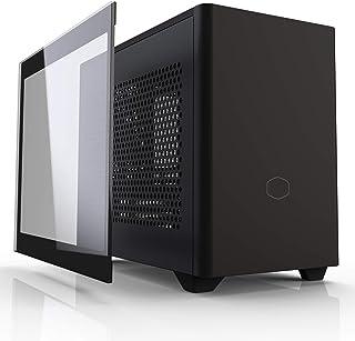 Cooler Master MasterBox NR200P Caja Ordenador Mini ITX - Panel Lateral Cristal Templado, Opciones de Enfriamiento Excelent...