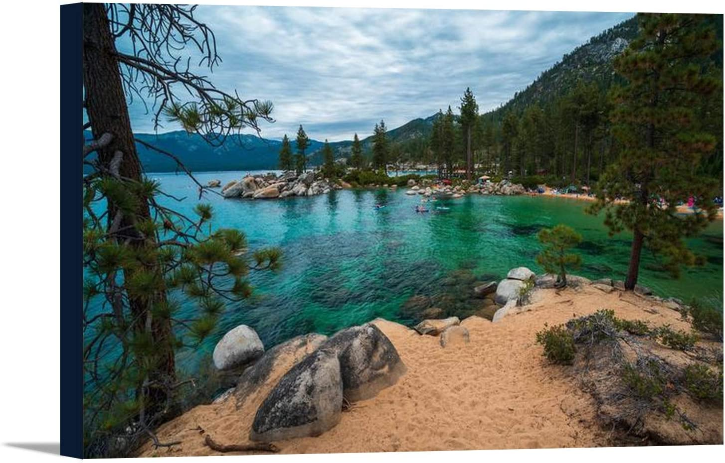 Nevada - Sand Harbor Beach Outlet SALE Lake Park Gallery Super sale period limited 36x24 Tahoe State