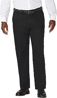 Haggar Men's Big & Tall Work to Weekend Hidden Expandable-Waist Plain-Front Pant