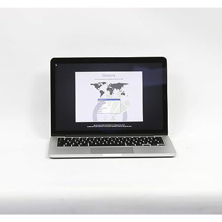 Apple MacBook Pro Retina 13in MF839LL / A / Intel Core i5 2.7 GHz / RAM 8 GB / 250 GB ssd / Tastiera qwerty US (Reacondicionado)