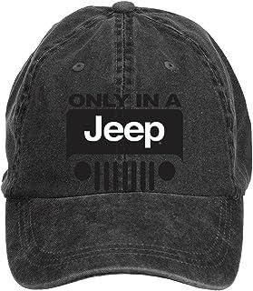 23b95236d0a ciyanccapp Unisex Jeep Wrangler Logo Baseball Caps Velcro Adjustable
