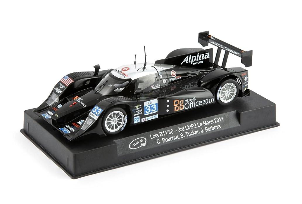 Slot It CA22c Lola B11/80 3rd LMP2 Le Mans 2011 1/32 scale slot car