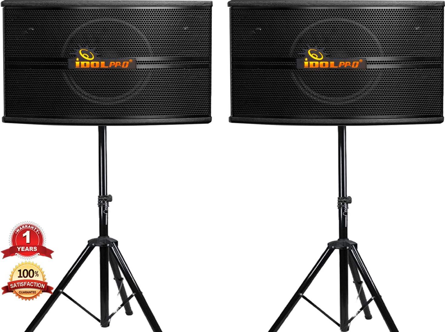IDOLpro 500W free Professional High Fidelity Vocal Speakers Austin Mall W Karaoke