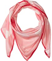 Kate Spade New York - Abstract Peony Square Scarf